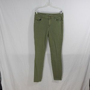 Old Navy Rockstar Jeans Size 12 Tall Sage Green